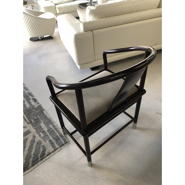 1990s Brueton Ming Inspired Chairs - Set of 4 For Sale In West Palm - Image 6 of 13