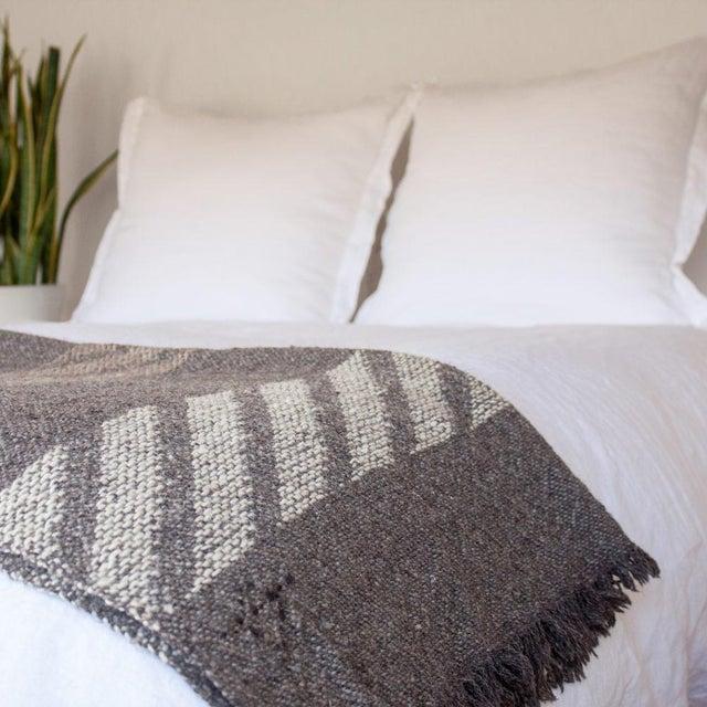 Handwoven Navajo Throw Blanket II - Image 3 of 3