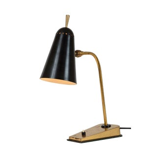 1950s French Table Lamp in the Manner of Pierre Guariche For Sale