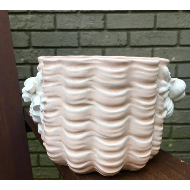 Nautical Fitz and Floyd Coral Shell Planter For Sale - Image 3 of 7