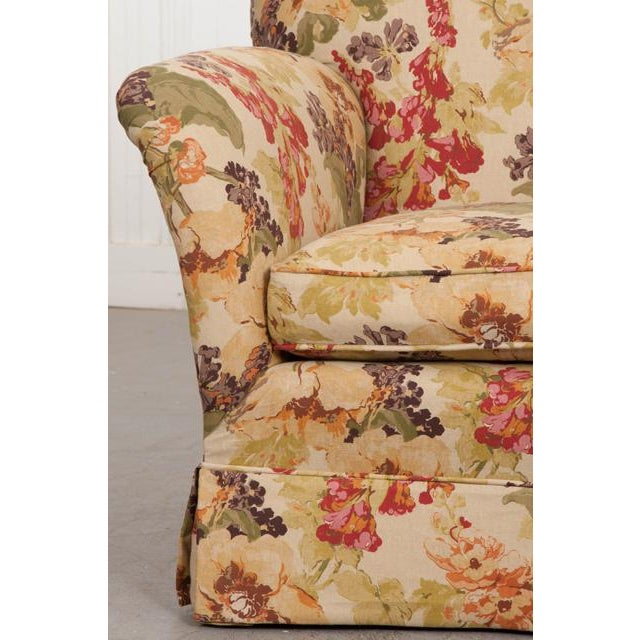 English Vintage Settee Love Seat For Sale - Image 10 of 12