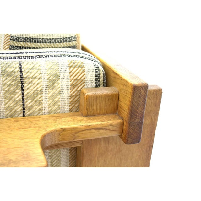 Yngve Ekström Lounge Chairs in Oak for Swedese, Sweden 1960s For Sale - Image 6 of 10