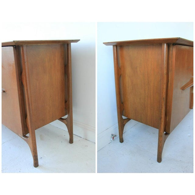 Mid-Century Modern Geometric 9-Drawer Dresser - Image 2 of 10