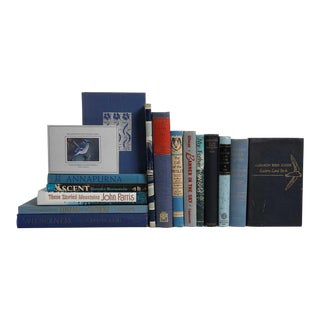 Outdoor Adventures in Blue & Grey - Set of 16