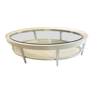 Barbara Barry for Henredon Transitional Cabochon Cocktail Table For Sale