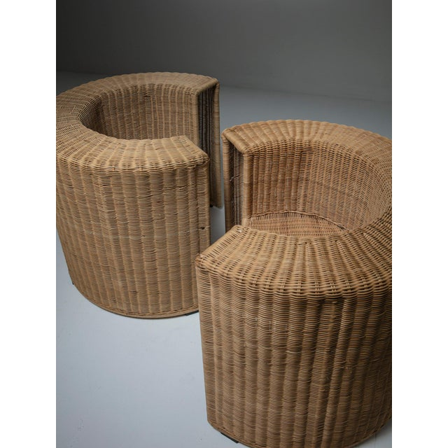 """Modern Pair of """"Charlotte"""" Chairs by Mario Botta for Horm For Sale - Image 3 of 7"""