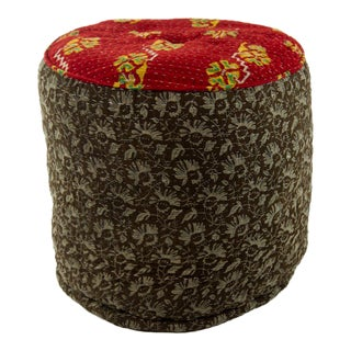 Jute & Cotton Kelly Pouf