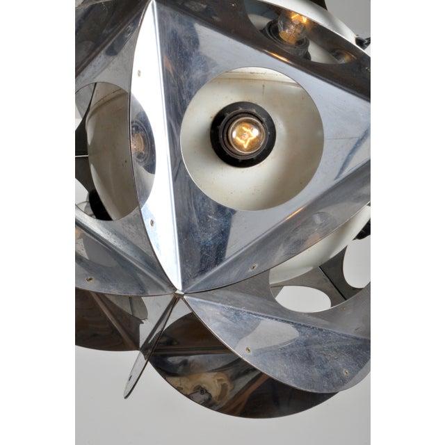 Mid-Century Modern Acona Biconbi Pendant Lamp From Bruno Munari For Sale - Image 3 of 4