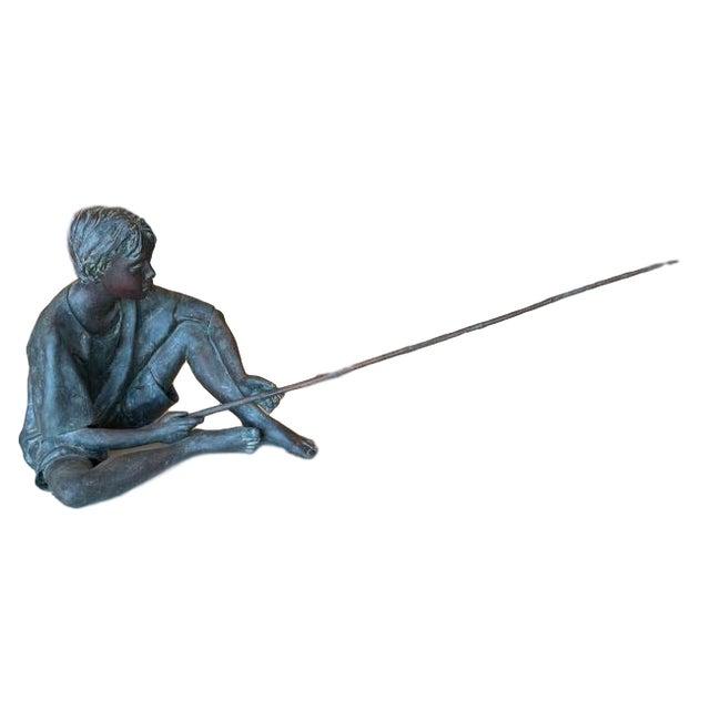"Metal Susanne Vertel ""Dream Catcher"" Bronze Statue For Sale - Image 7 of 11"