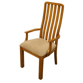 Thomasville Furniture Sundance Collection Mission Style Dining Arm Chair For Sale