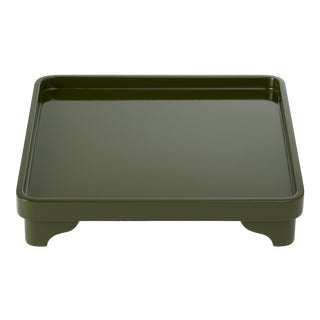 Chinese Riser in Loden Green - Miles Redd for The Lacquer Company For Sale