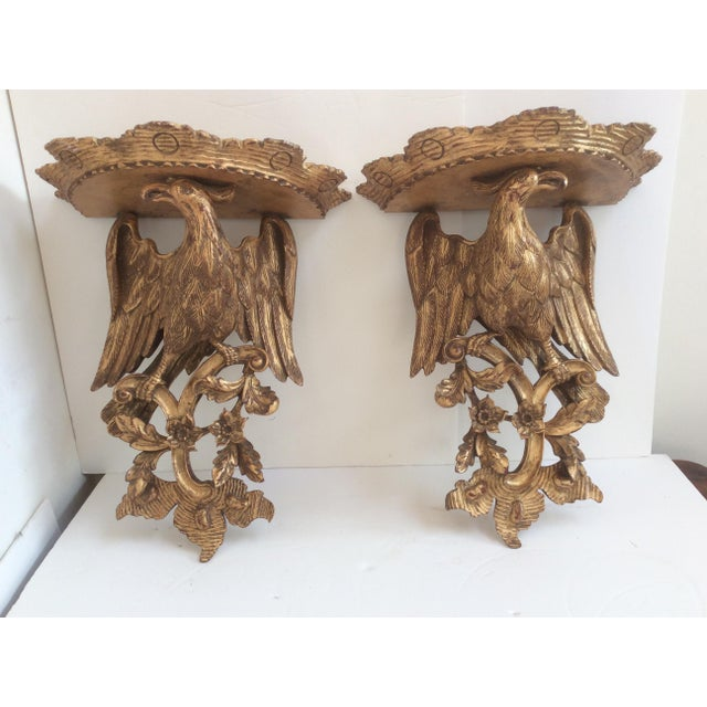 Chippendale Style Wood Wall Sconces - a Pair For Sale - Image 5 of 8