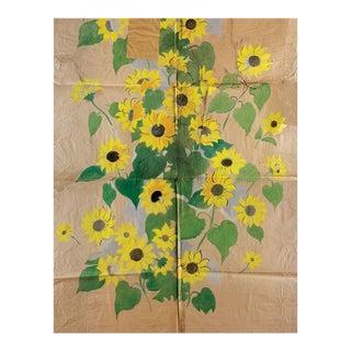 Paule Marrot, Sunflowers, Unframed Artwork For Sale