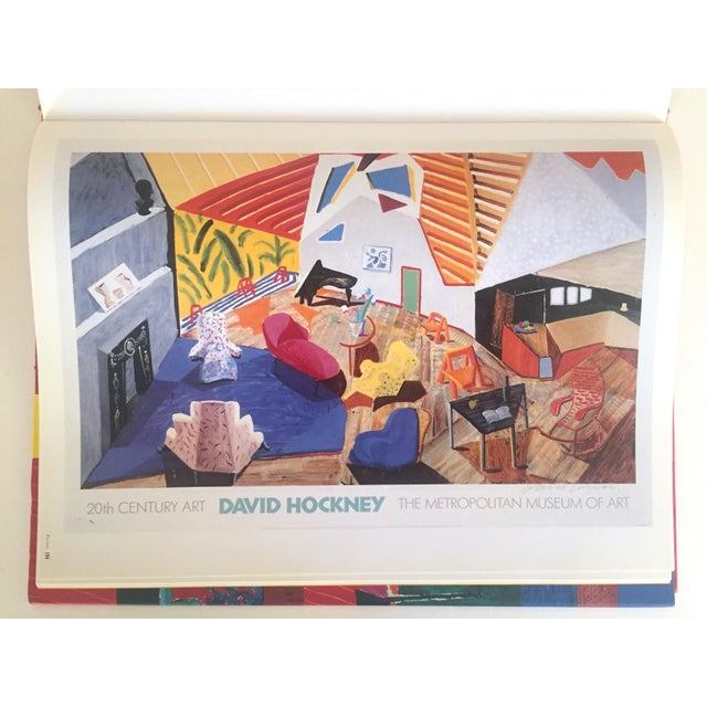 "Boho Chic ""David Hockney Poster Art"" 1st Edition Vintage 1995 Collector's Art Book For Sale - Image 3 of 11"