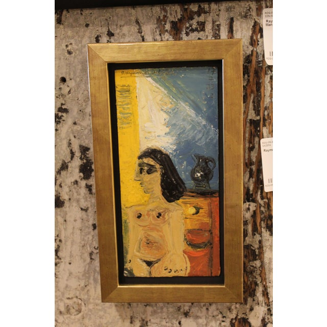 Raymond Debieve Nude Painting For Sale - Image 4 of 4