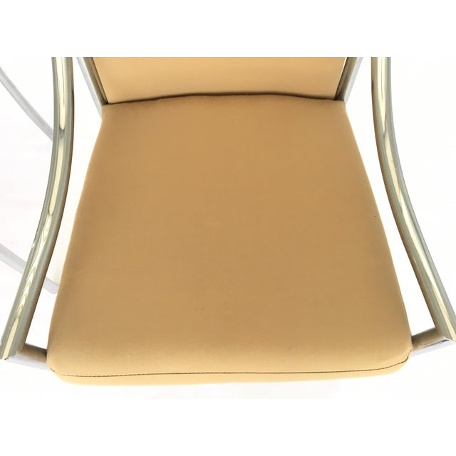 Chrome Dining Chairs After Milo Baughmann - A Pair - Image 6 of 7