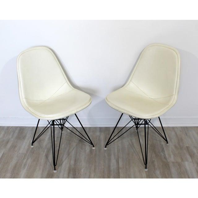 Herman Miller Mid Century Modern Eames Herman Miller Eiffel Tower Dkr Side Chairs 60s - Set of 6 For Sale - Image 4 of 11