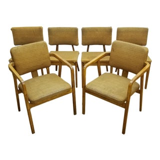 1950s Vintage George Nelson Dining Chairs for Herman Miller- Set of 6 For Sale