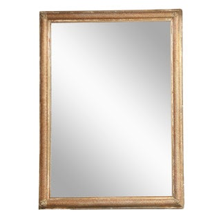 Grand Scale Giltwood Mirror