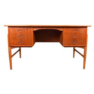 Vintage Mid Century Danish Modern Teak Desk