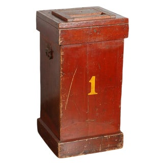Circus Ticket Collectors Box