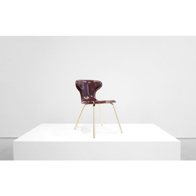 Gold Egmont Arens, Fiberglass Chair, C. 1950 - 1959 For Sale - Image 8 of 8
