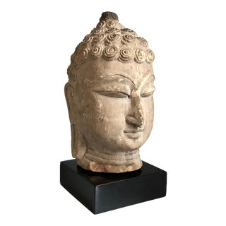 Thai Buddha Head, Ayutthaya Period For Sale