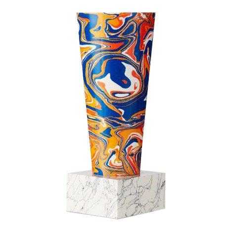 Swirl Stem Primary Colors Vase For Sale