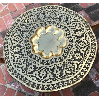 1960s Moroccan Round Brass Tray Preview