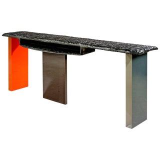 "Charly Bounan, ""Calciné"" Unique Desk For Sale"