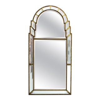 Hollywood Regency Mirror with Giltwood Frame For Sale