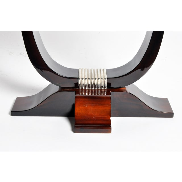 Hungarian Art Deco Style Table For Sale - Image 9 of 11