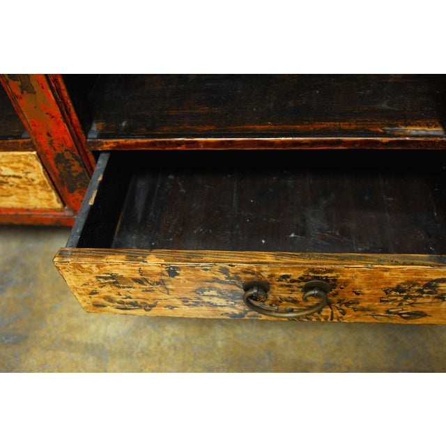 19th Century Chinese Server Sideboard Buffet For Sale - Image 7 of 9