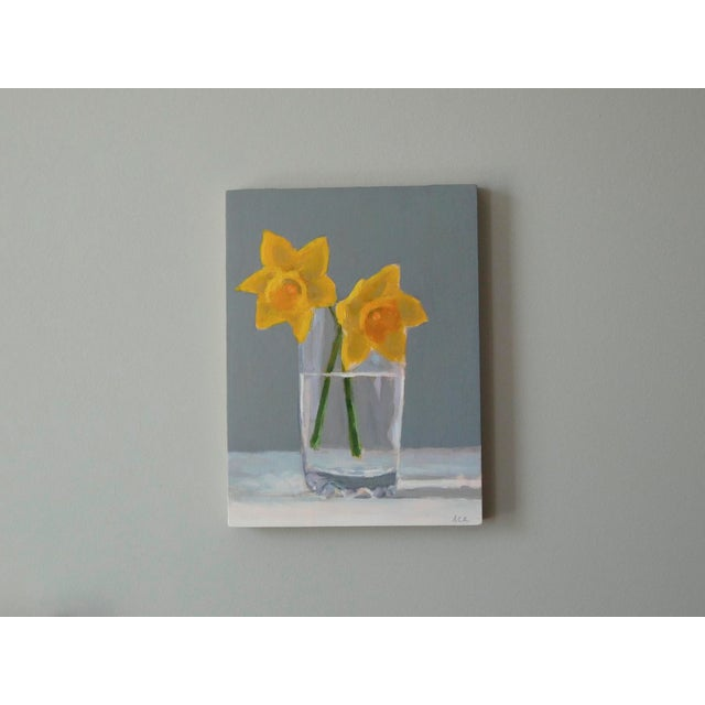 Anne Carrozza Remick Daffodils by Anne Carrozza Remick For Sale - Image 4 of 5