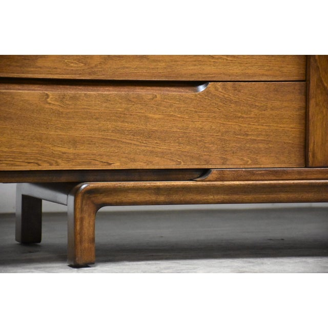 Brown Edmond Spence Swedish Modern Dresser Credenza For Sale - Image 8 of 12