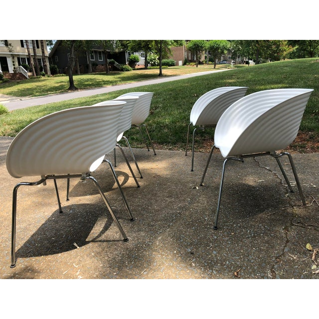 Tom Vac Ron Arad by Vitra Chairs - Set of 5 For Sale In Charlotte - Image 6 of 12