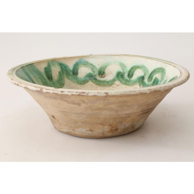 French Large 18th Century Majolica Tian For Sale - Image 3 of 7