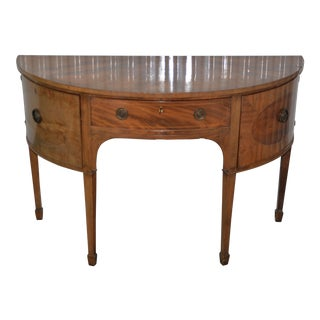 Early 19th Century Federal Bow Front Sideboard For Sale