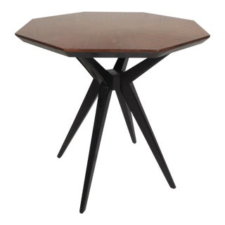 Contemporary Modern Kate Spade Rosewood End Table For Sale