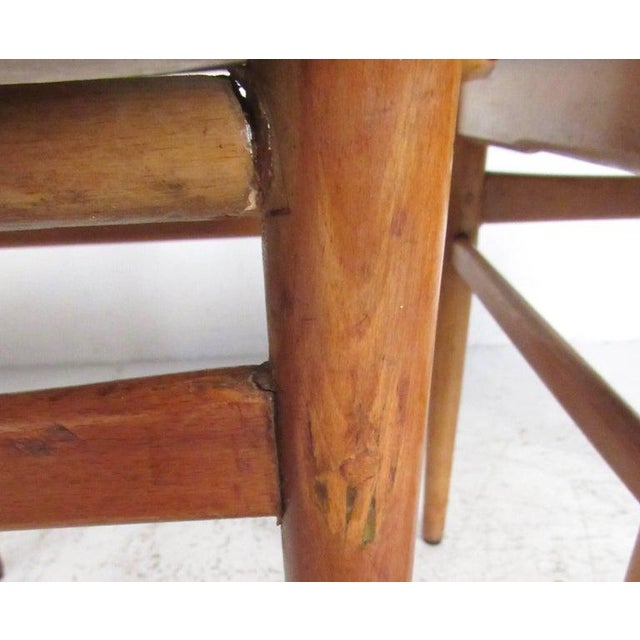 Set of Mid-Century Modern Bentwood Dining Chairs For Sale - Image 4 of 9