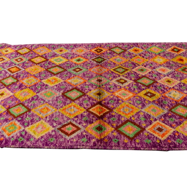 "Textile Modern Gabbeh Rug, 2'9"" X 9'3"" For Sale - Image 7 of 10"