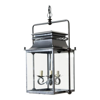 "Contemporary ""Helia"" Outdoor Lantern For Sale"