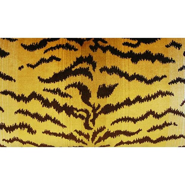 Scalamandre Le Tigre & Mohair Pillow - Image 5 of 5