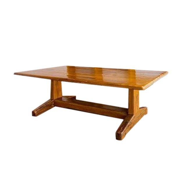 Jarrah Wood Rustic Dining / Communal Table - Image 1 of 4