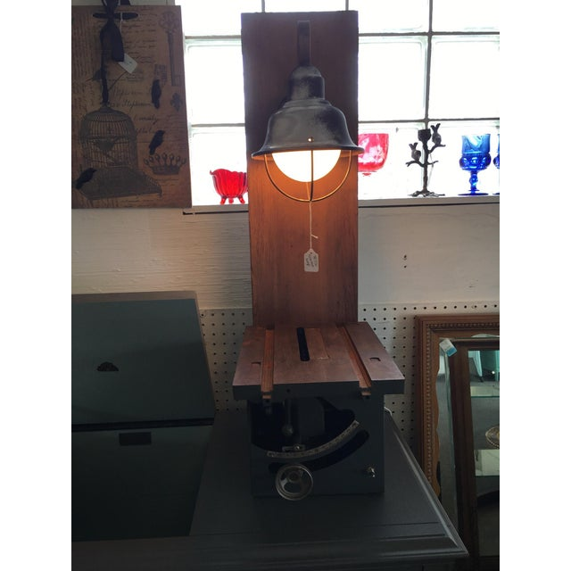Craftsman Table Saw Table Lamp - Image 2 of 4