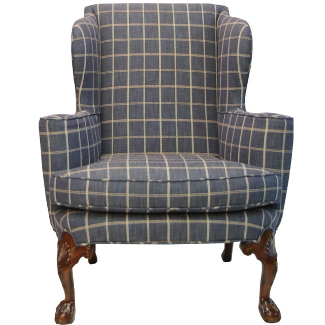 Thomas Chippendale Wing Chair - Image 1 of 2
