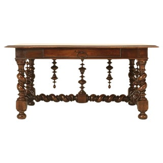Antique French Writing Table from the 1800s For Sale