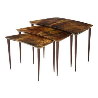 Alo Tura Nesting Tables, Italy For Sale