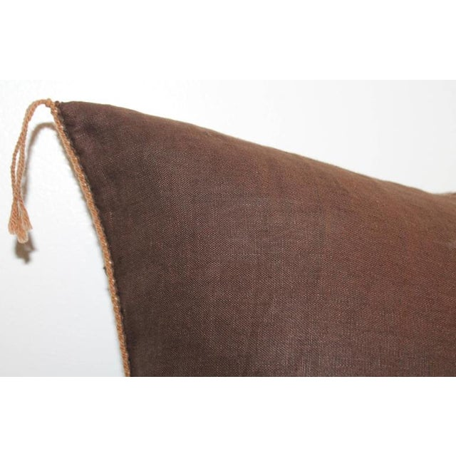1950s Yea Navajo Indian Weaving Pillow For Sale - Image 5 of 7