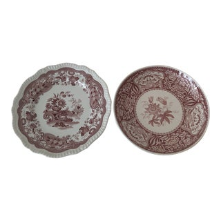 Spode Archive Collection Cake Plate and Bowl For Sale